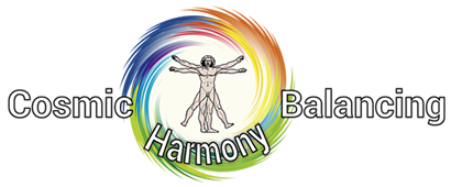 Cosmic Harmony Balancing Logo